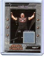 WWE Triple H 2003 Fleer WrestleMania 19 Mat Finish Event Used Mat Card WWF DWC