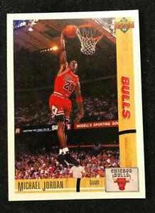 1991-92 Upper Deck Michael Jordan HOF #1 PROMO CARD Extremly Rare Well Centered