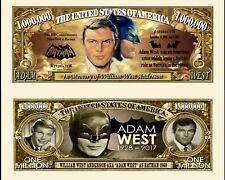 Adam West Batman Novelty Dollar plus Semi Rigid protector & free shipping