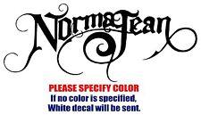 "Norma Jean Band Rock Music JDM Vinyl Decal Car Sticker Window bumper Laptop 7"""