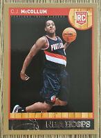 2012-13 Panini NBA Hoops CJ McCollum Rookie Gold 🏀 #270 Portland Trail Blazers