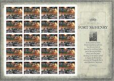 Fort McHenry The War of 1812 USPS Forever Stamp Sheet 20 Stamps 2014 US #4921