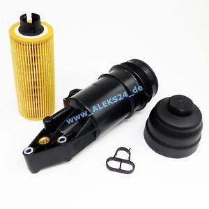 Oil Filter Housing Oil Clip Oil Filter Motorschmierung for Audi A4 Touareg