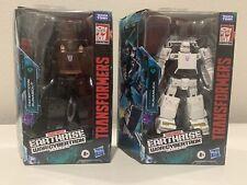 Transformers War for Cybertron WFC Earthrise Runabout & Runamuck Mint In Box MIB