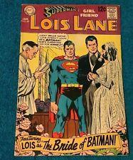 SUPERMANS Girlfriend LOIS LANE 89 1st Print 1st App BRIDE OF BATMAN CGC it DC