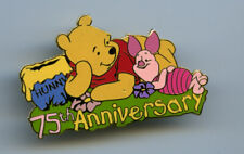 New ListingDisney Auctions Winnie The Pooh 75th Anniversary Piglet & Pooh Pin Le 100