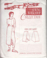 Origami Skirt by The Sewing Workshop  uncut, factory folded  sizes 8-18