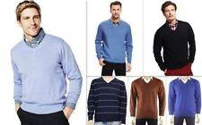Markenlose Herren-Pullover & -Strickware mit regular Länge aus Baumwolle