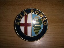 EMBLEM BADGE ALFA ROMEO FRONT GRILL 147 156 164 etc 240051016 IN METALLO SCUDETTO