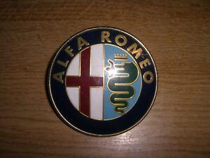 Emblem Badge Alfa Romeo Frontgrill 147 156 164 etc 240051016 aus Metall Scudetto