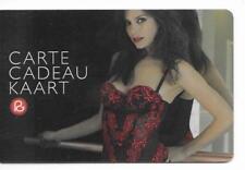 RARE / CARTE CADEAU - SOUS VETEMENT FEMININ TENUE SEXY CHARME LINGERIE GIFT CARD