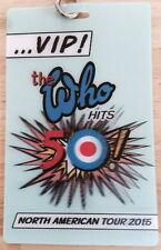 The Who Hits 50! - VIP Laminate Pass & Lanyard