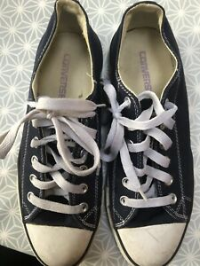 VINTAGE  CONVERSE ALL STAR MADE IN USA SIZE 8.5 U.K.
