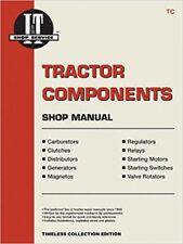 I&T shop materiali utiliz Trattore componenti shop MANUALE TC