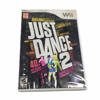 Just Dance 2 - (Nintendo Wii, 2010) - Case and Disc Only - *Tested And Works*