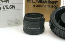 Rodenstock Trinar f3,5 50 Vergrößerungs Objektiv enlarging lens Nikon OVP sn113