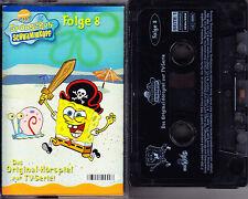 MC Spongebob Schwammkopf Folge 8 - Original-Hörspiel zur TV-Serie - EdelKids