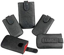 Universal Handy Tasche Titan Cover Case Etui Schwarz für Samsung I9100 Galaxy S2