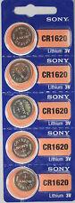 5 pcs Sony Cr1620 Ecr1620 Cr 1620 3v Battery