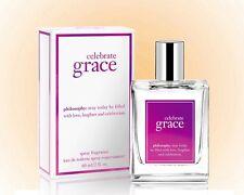 Philosophy Celebrate Grace Spray Fragrance 2 OZ. New Holiday Fragrance- Gift Box