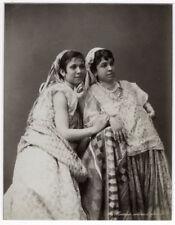 c.1880's PHOTO - ALGERIA GEISER TWO WOMEN