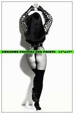 """Rare, Hollywood Actress, Singer CHER, Calendar Shoot Large Photo REPRINT 11""""x17"""""""