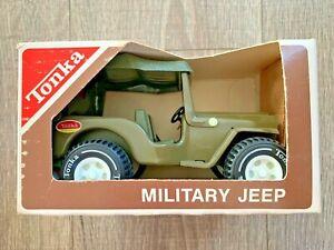1970s Tonka Tiny #1989 Military Jeep NEW Complete in Box NIB CIB + Comic Book Ad