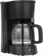 5-Cup Coffeemaker with Glass Carafe