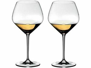 RIEDEL Heart To Heart, Set With 2 White Wine Glasses Chardonnay/Crystal New