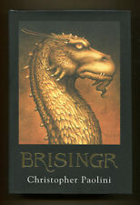 BRISINGR, Inheritance Book Three by Christopher Paolini - 2008 1st Ed. in DJ