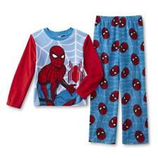 BOYS PYJAMAS LOUNGE PANTS BOTTOMS SPIDERMAN 3-9 YEARS