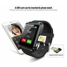 U8/plus Bluetooth Smart  Watch GSM SIM Call For Android Samsung Xiaomi iPhone LG