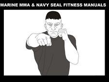 US MARINES MMA & NAVY SEAL FITNESS MANUALS 410pg w Martial Arts Jujitsu Training