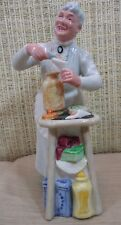 """Royal Doulton Large """"A Penny's Worth"""" Lady Figurine Hn2408 China Made In England"""