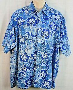 Rotary International Hawaiian Aloha Camp Shirt By All American Specialty