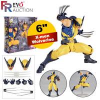 "6"" Kaiyodo Revoltech Amazing Yamaguchi Wolverine X-Men Figurine Jouet"