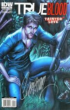 HBO SERIES: TRUE BLOOD TAINTED LOVE #4 SIGNED BY ARTIST J. SCOTT CAMPBELL