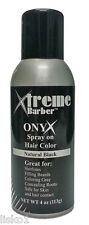 Xtreme Onyx Spray on Hair color Natural Black 4oz.