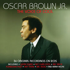 Oscar Brown Jr. - The Voice Of Cool - 36 Original Recordings 2CD NEW/SEALED