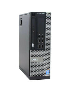 Dell Optiplex 9010 SFF (Intel i7 3.4GHz, 8GB RAM, 500GB HDD, 1GB ATI)