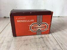 Mayflower Mini Spy Scope Monocular 6x15 Power With Original Box And Case