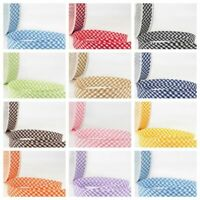 La Stephanoise Bias Binding - 30mm Wide Gingham In 11 Colours Free Postage
