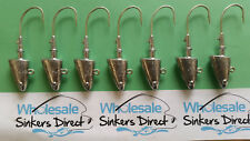 14 X 2oz bulk australian made shad head jigs with eagle claw 7/0 hooks