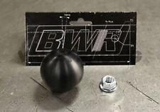 Blackworks Racing BWR 10x1.5 Aluminum Ball Style Shift Knob Black Honda Acura