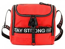 GEORGE GINA & LUCY Nylon Roots Cooler Umhängetasche Tasche Red Strong Rot