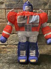 VINTAGE Softimus Prime G1 Transforming Optimus Prime Plush HASBRO Transformers