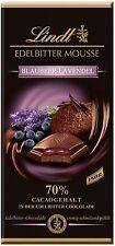 (100g=1,99€) Lindt Edelbitter Mousse Schokolade - Blaubeere Lavendel - 150g