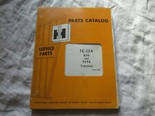 International Farmall 656 2656 tractor  parts catalog book manual