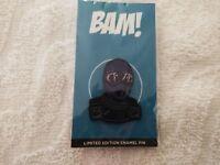 G.I. Joe GO JOE enamel pin - BAM BOX EXCLUSIVE - Brian Romero