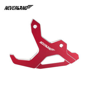 Red CNC Rear Brake Disc Guard Cover Protector For Honda CRF250R CRF450R 04-2017